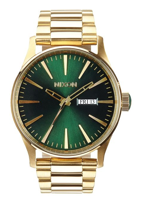SENTRY SS , 42 MM Gold / Green Sunray A356-1919-00