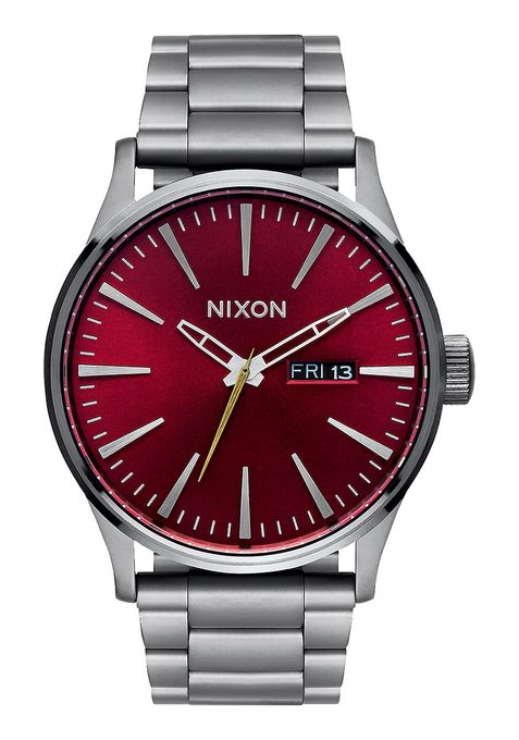 SENTRY SS , 42 MM Gunmetal / Deep Burgundy A356-2073-00