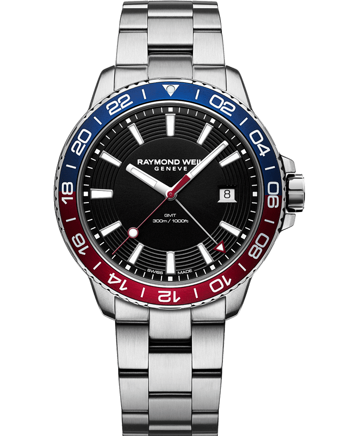 Tango 300 GMT Men's Blue Red Diver Watch, 42mm 8280-ST3-20001