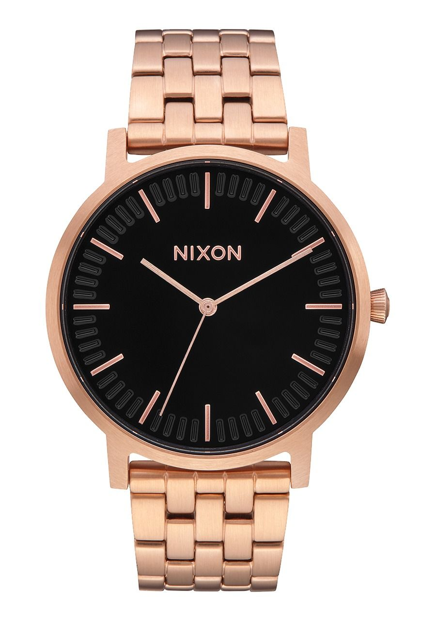 PORTER , 40 MM All Rose Gold / Black A1057-1932-00