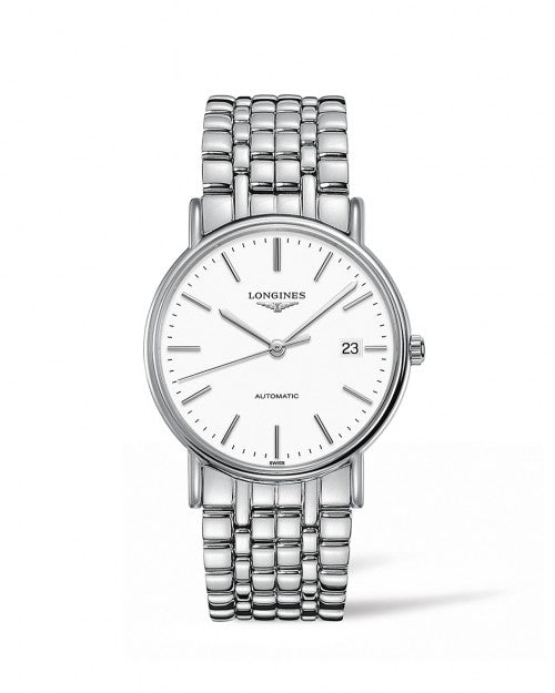 THE LONGINES PRESENCE 38MM AUTOMATIC L49214126