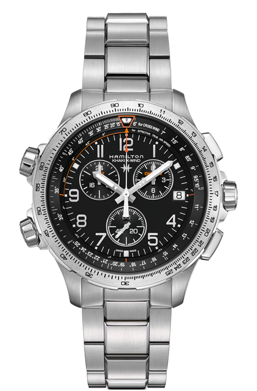 KHAKI X-WIND CHRONO QUARTZ GMT H77912135