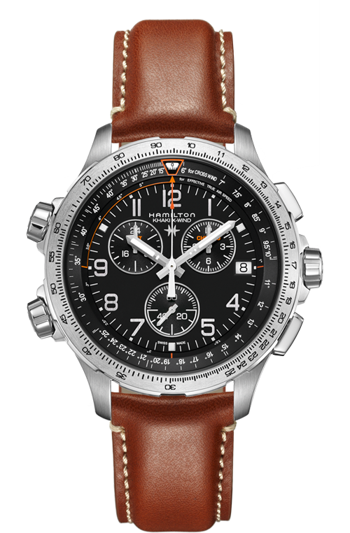 KHAKI X-WIND CHRONO QUARTZ GMT H77912535