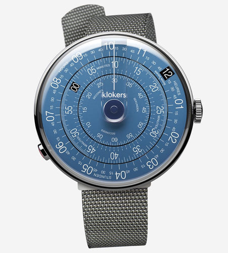 KLOKERS Klok-01 Metal Blue Dial