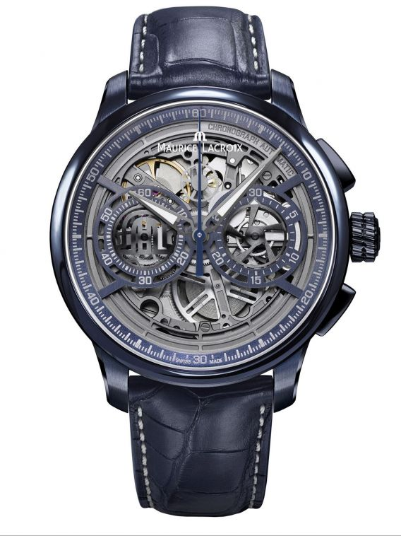 MASTERPIECE Chronograph Skeleton 45mm MP6028-PVC01-002-1