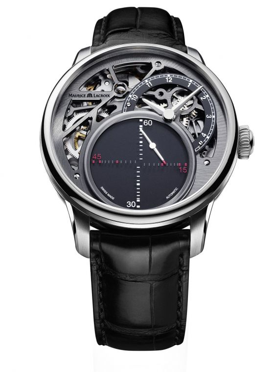 MASTERPIECE Mysterious Seconds 43mm MP6558-SS001-095-1