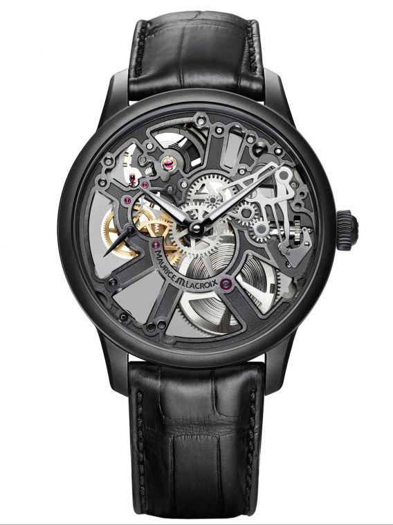 MASTERPIECE Skeleton 43mm MP7228-PVB01-005-1