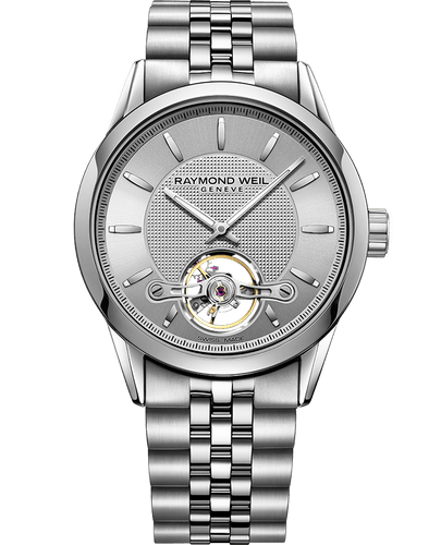 Freelancer Calibre RW1212 Silver Steel Automatic Watch, 42mm 2780-ST-65001