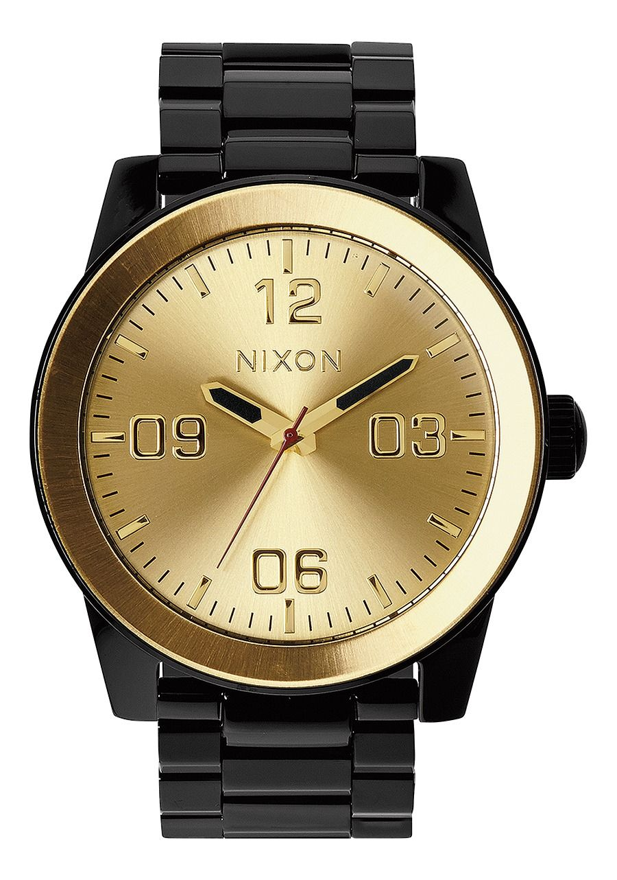 CORPORAL SS , 48 MM Color Black / Gold A346-010-00