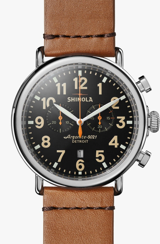 SHINOLA THE RUNWELL CHRONOGRAPH 47MM S0110000044