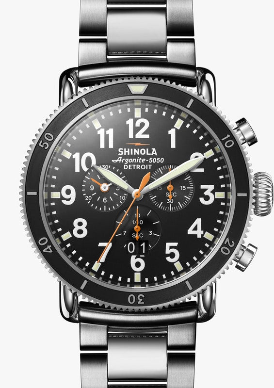 SHINOLA THE RUNWELL SPORT CHRONOGRAPH 48MM S0110000090