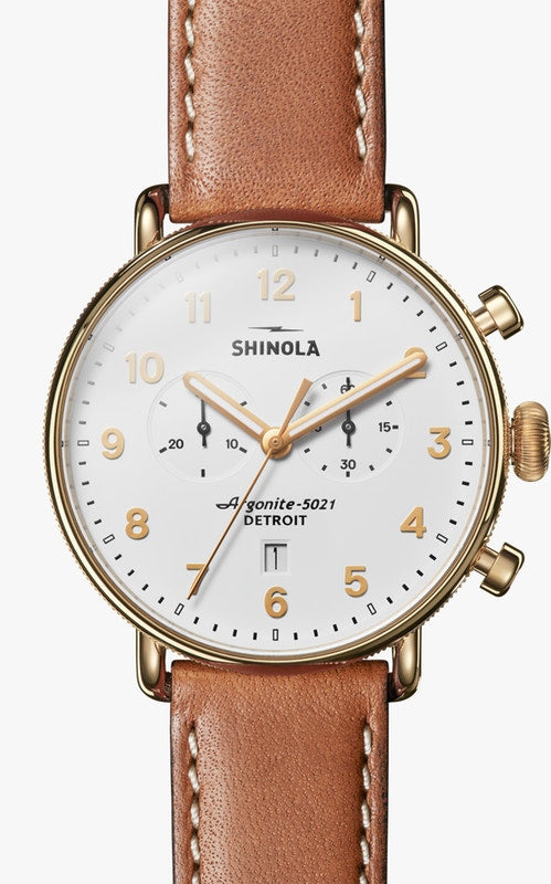 SHINOLA THE CANFIELD CHRONOGRAPH 43MM S0120044134