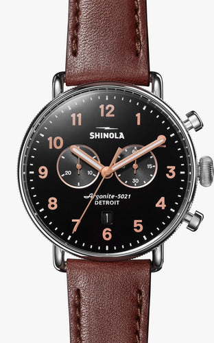 SHINOLA THE CANFIELD CHRONOGRAPH 43MM S0120095229