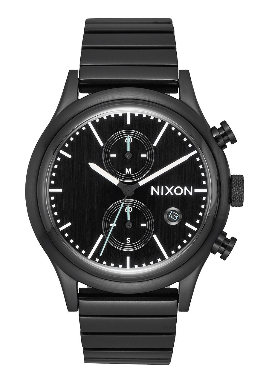 STATION CHRONO , All Black / Gunmetal A1162-2341-00