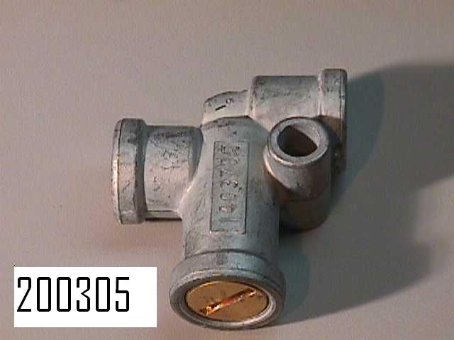 Pressure Protection Valve 1/4 NPTF IN-OUT, FACT. SKU 200305