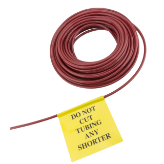 Tubing, 5/32, Red, Labeled SKU 302538