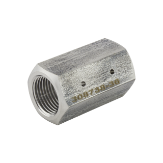 Adapter, In-line RMS, Size .028in, 3/8 Female, Female SKU 308738-28