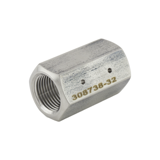 Adapter, In-line RMS, Size .032