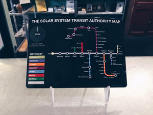 The Solar System Transit Authority Map