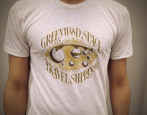 "GSTS T-Shirt - ""Planet Bridge"" design"