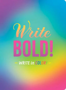 Write Bold! Notebook