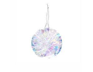 Iridescent Party Ornaments