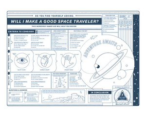 Print: WILL I MAKE A GOOD SPACE TRAVELER?