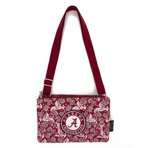 Alabama Crimson Tide Purse Cross Body Bloom
