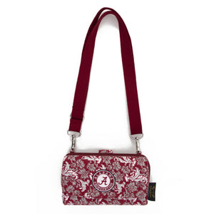 Alabama Crimson Tide Wallet Cross Body Bloom
