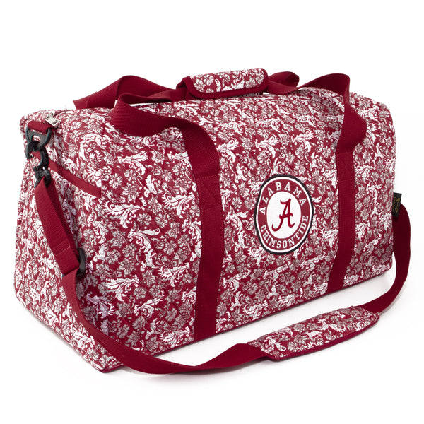 Alabama Crimson Tide Large Duffel Bloom