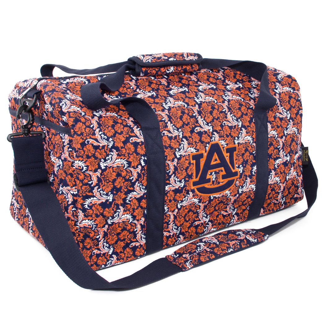 Auburn Tigers Large Duffel Bloom