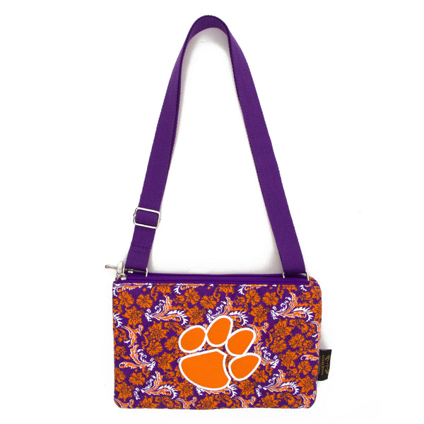 Clemson Purse Cross Body Bloom