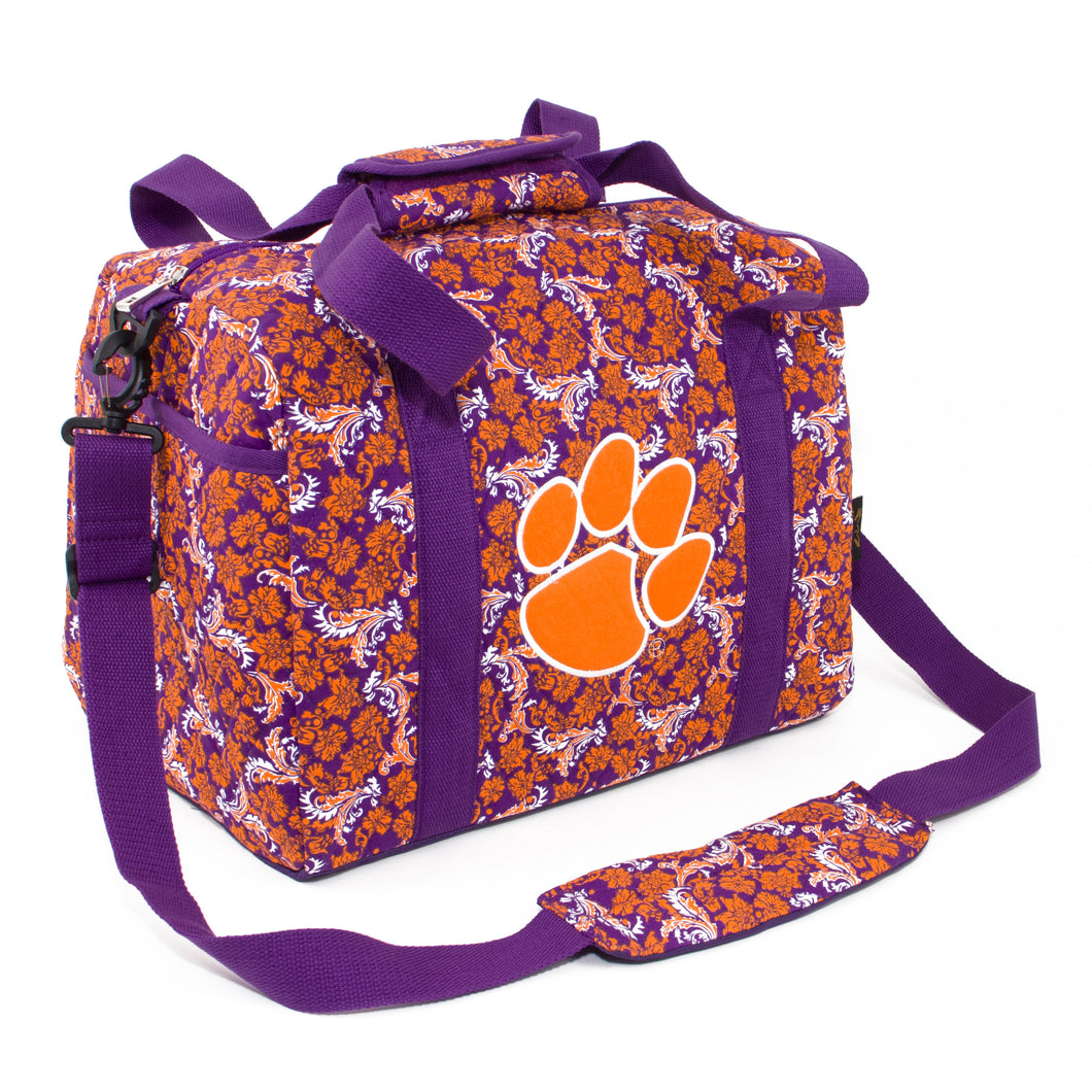 Clemson Tigers Mini Duffel Bloom