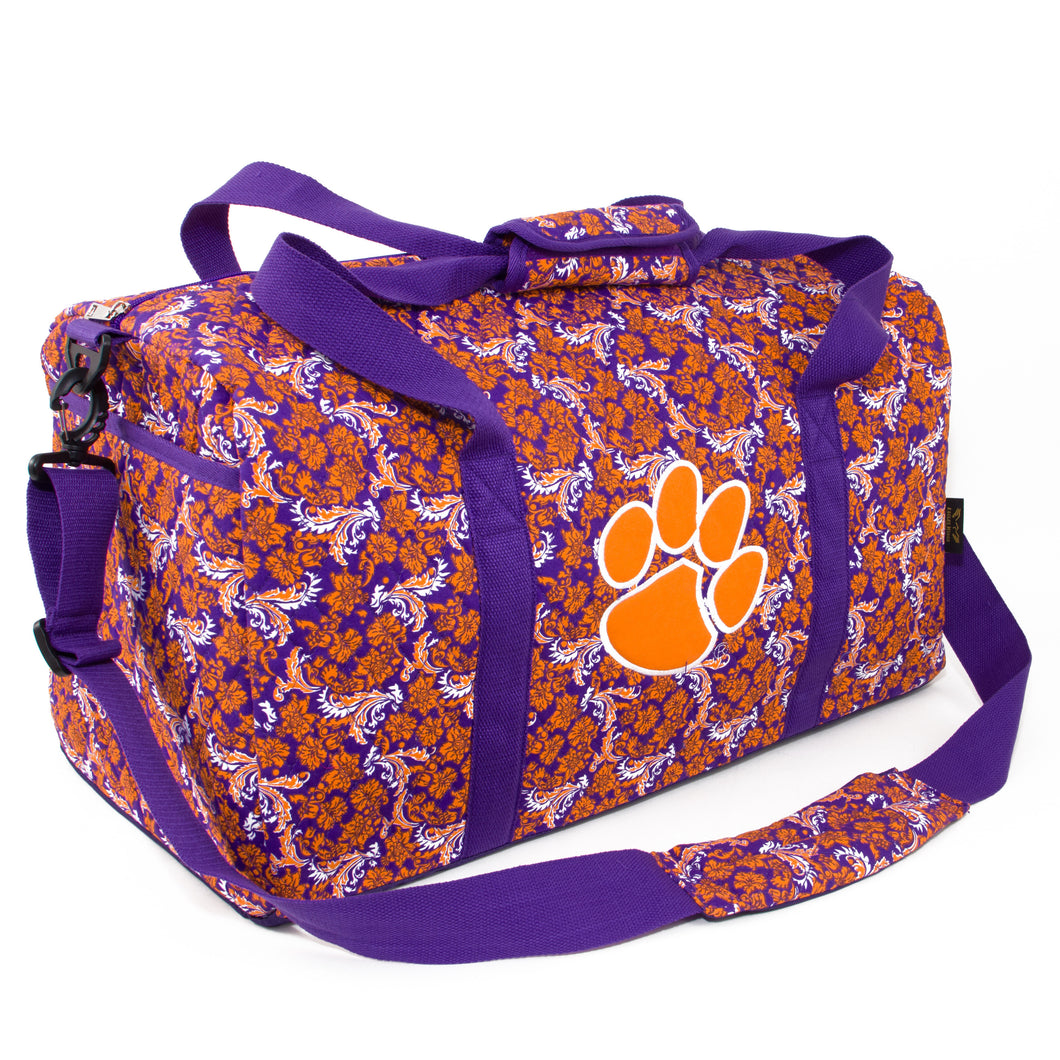 Clemson Tigers Large Duffel Bloom