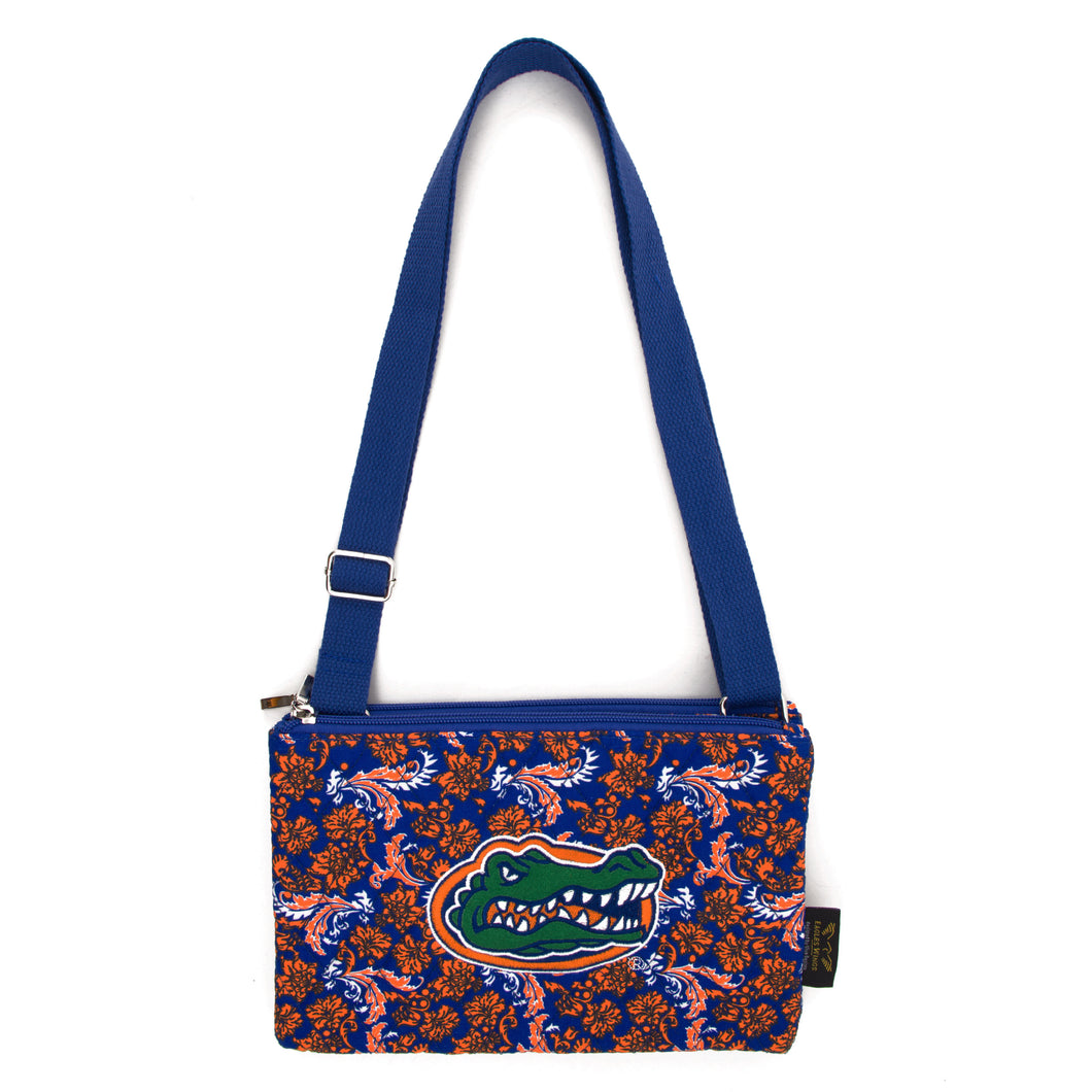 Florida Gators Purse Cross Body Bloom