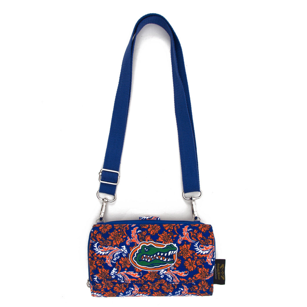 Florida Gators Wallet Cross Body Bloom
