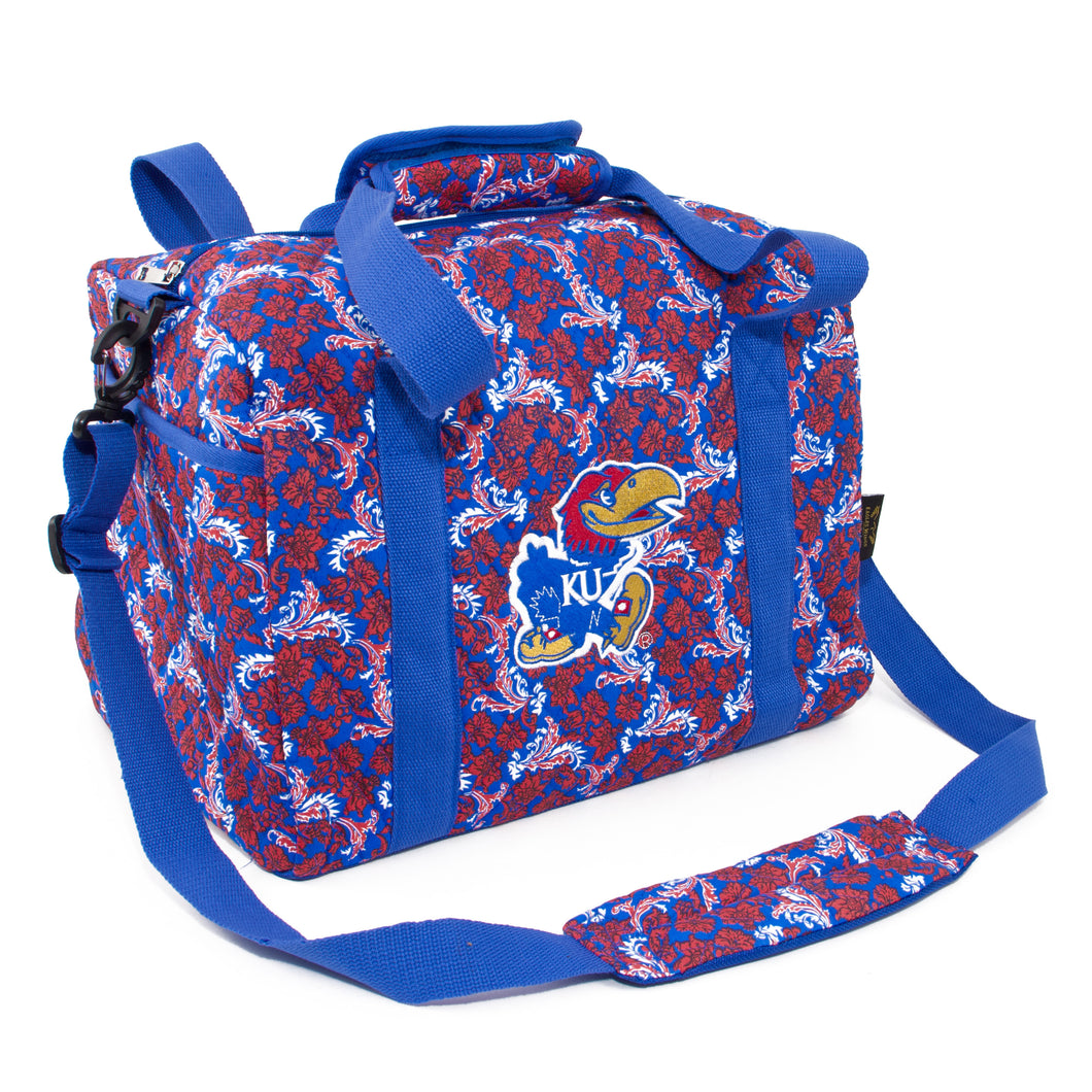 Kansas Jayhawks Mini Duffel Bloom