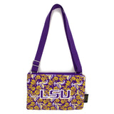 LSU Purse Cross Body Bloom