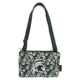 Michigan State Purse Cross Body Bloom