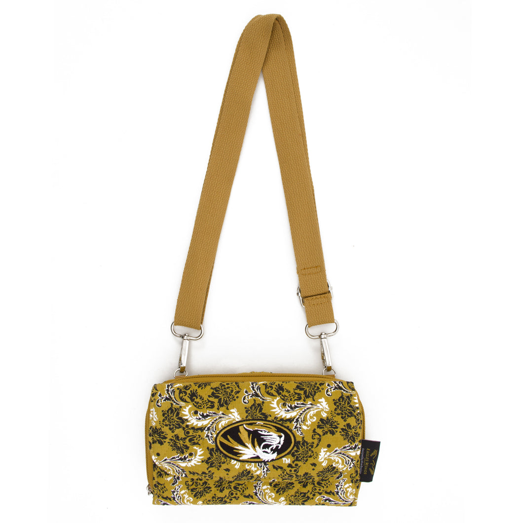 Missouri Tigers Wallet Cross Body Bloom