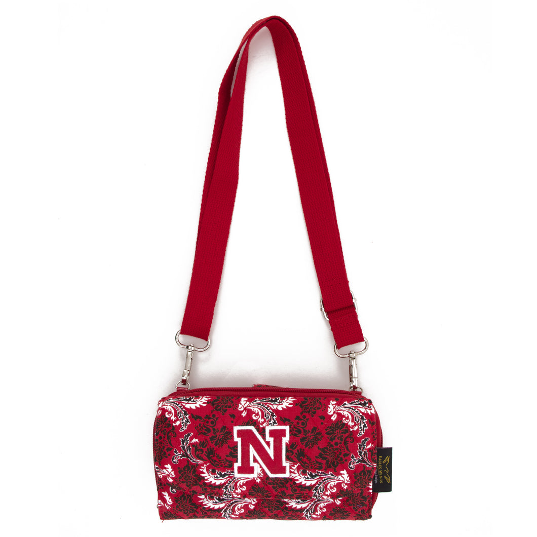 Nebraska Wallet Cross Body Bloom