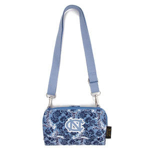 North Carolina Tar Heels Cross Body Tar Heels Quilted Cotton Wallet