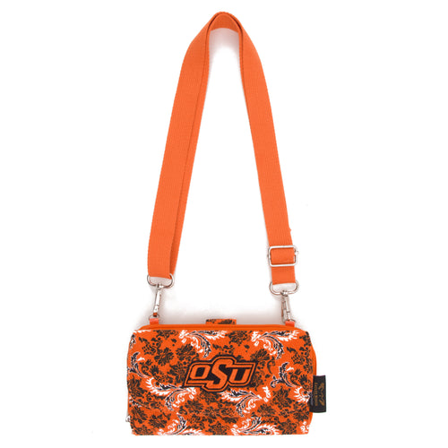 Oklahoma State Wallet Cross Body Bloom