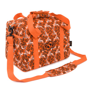 Oklahoma State Mini Duffel Bloom