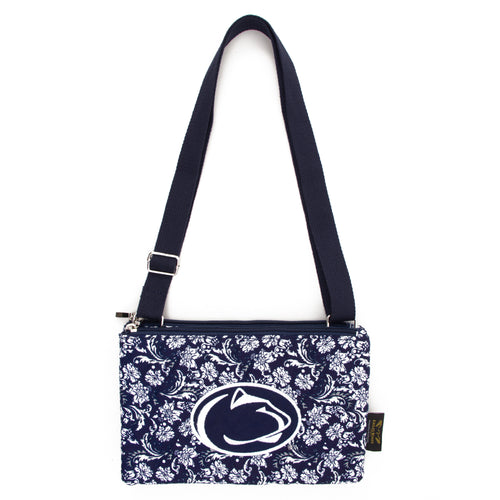Penn State Purse Cross Body Bloom