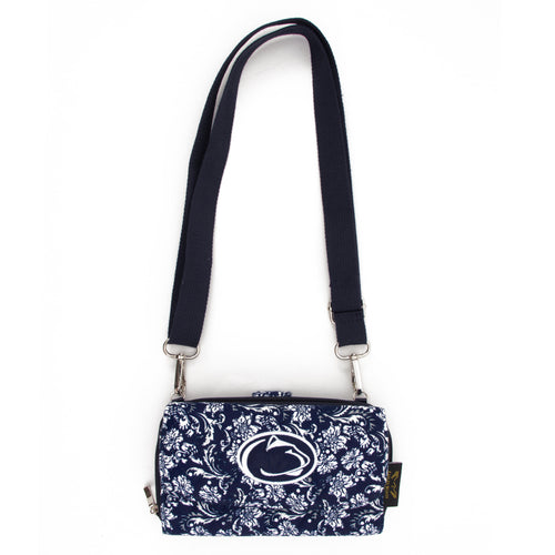 Penn State Cross Body Nittany Lions Quilted Cotton Wallet