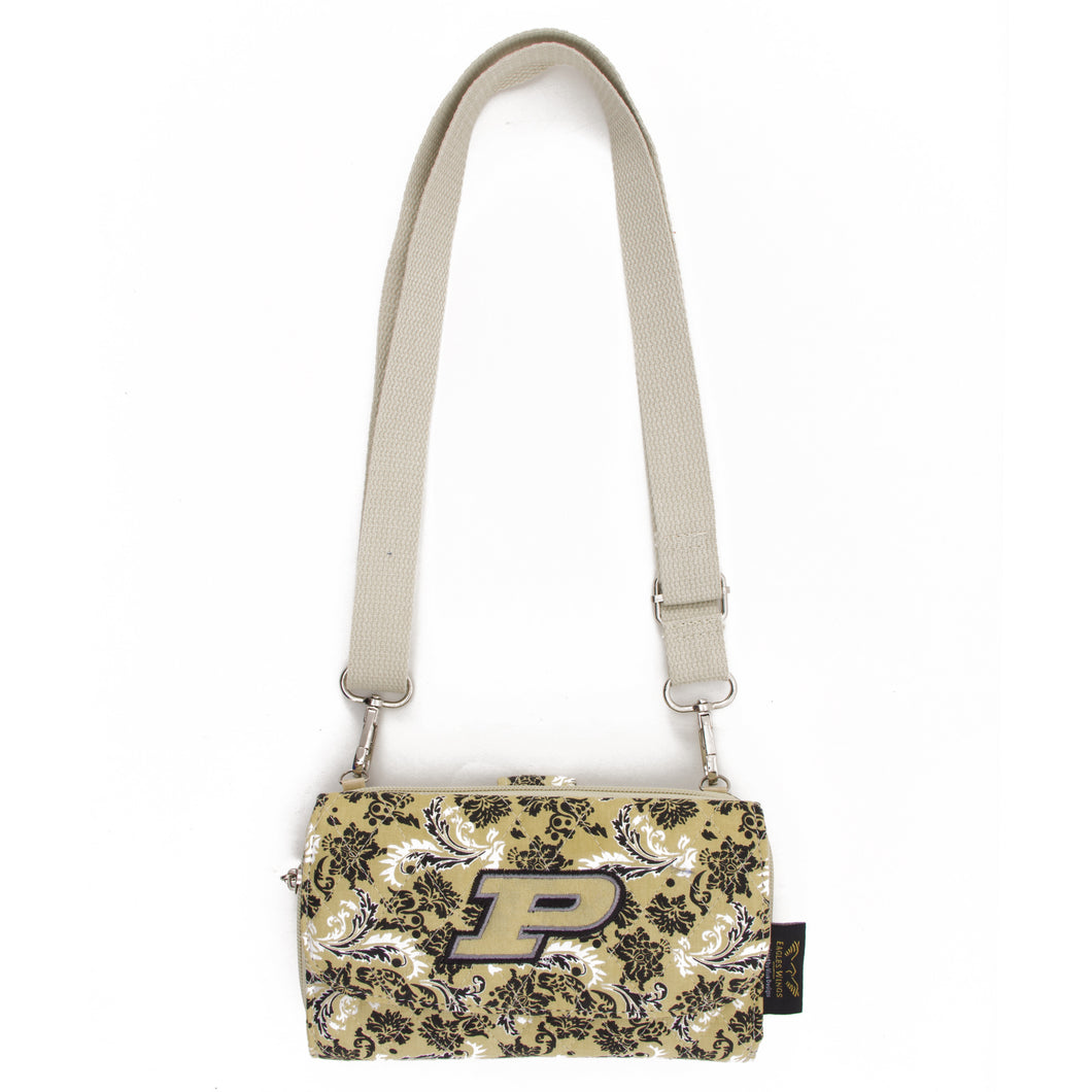 Purdue Wallet Cross Body Bloom