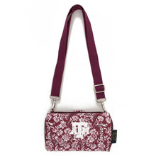 Load image into Gallery viewer, Texas A&M Aggies Cross Body Quilted Cotton Wallet