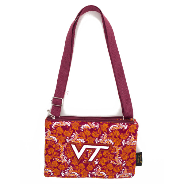 Virginia Tech Purse Cross Body Bloom