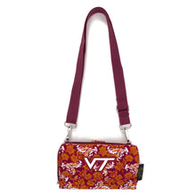 Load image into Gallery viewer, Virginia Tech Wallet Cross Body Bloom